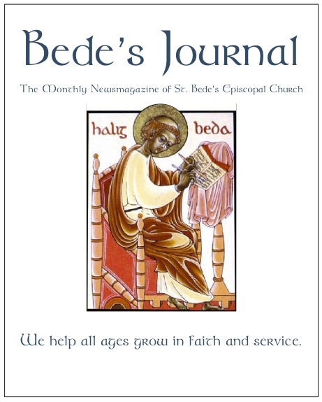 Bede's Journal Newsletter